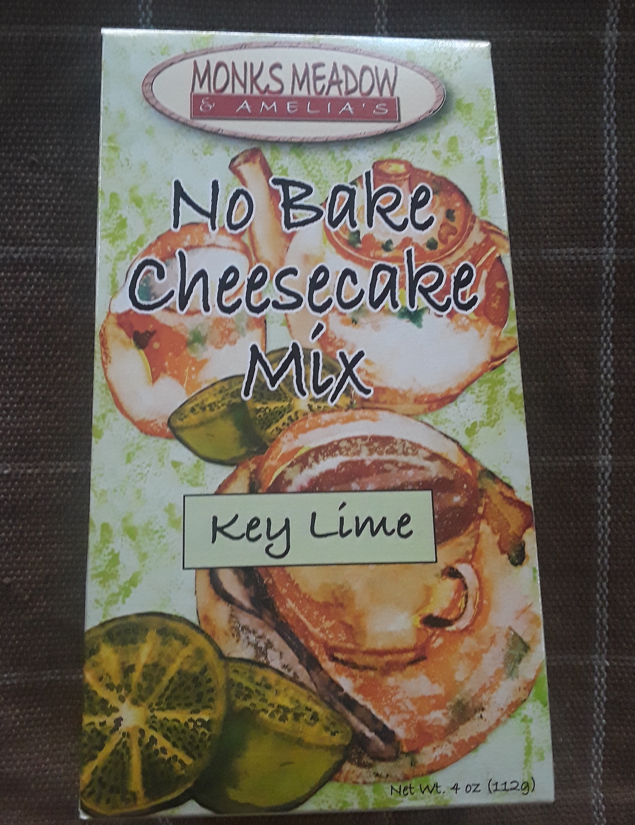 Monks Meadow & Amelia's No Bake Cheesecake Mix